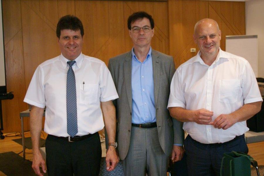 Herr Liebich, Herr Wübbels und Herr Höche